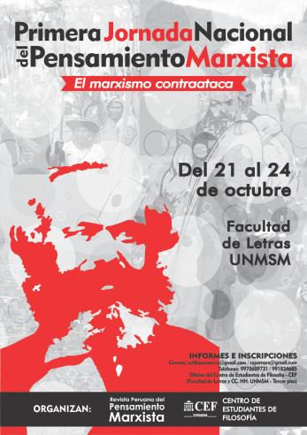 Jornada Marxista. Afiche