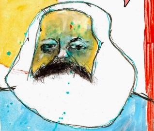 Karl Marx ✆ A.d. © Ñángara Marx