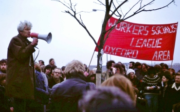 E_P_Thompson_at_1980_protest_rally
