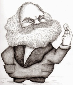 Karl Marx ✆ Raficolv © Ñángara Marx